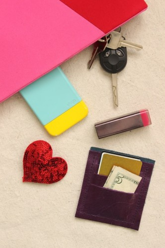 DIY Mini Leather Wallet