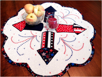 Fourth of July Table Mat Pattern
