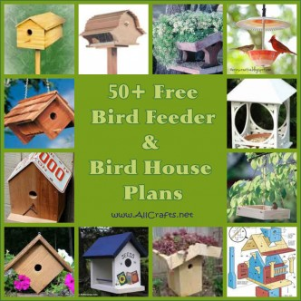50+ Free Bird House and Bird Feeder Plans