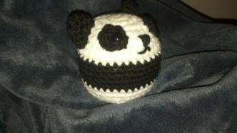Panda Ball Crochet Pattern