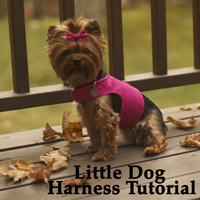 Little Dog Harness Sewing Tutorial
