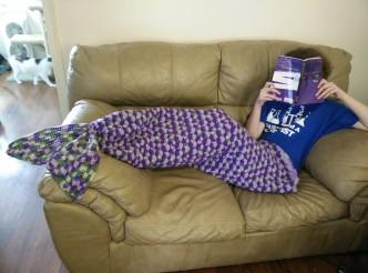 Mermaid Lapghan Crochet Pattern