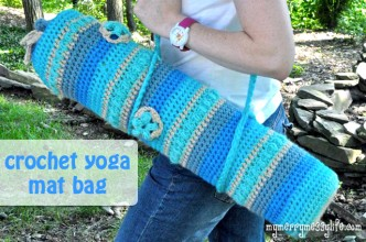 Yoga Mat Bag Free Crochet Pattern