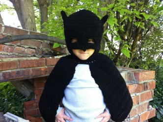 Batman Inspired Costume Crochet Pattern