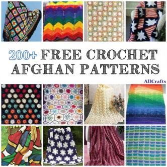 200 Free Crochet Afghan Patterns