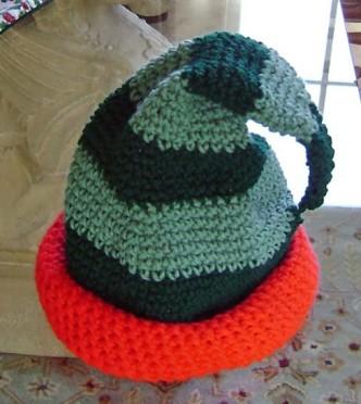 Elfitude Crochet Christmas Hat Pattern