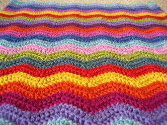 Neat Crochet Ripple Pattern