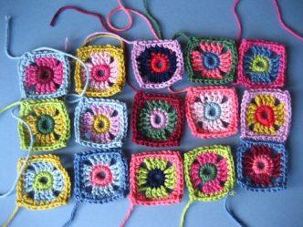 Little Coat Squares Free Crochet Pattern