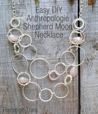 Anthroplogie Shepherd Moon Necklace Tutorial