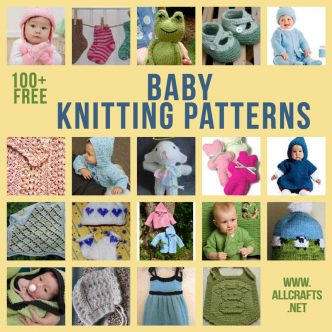 100+ Free Baby Knitting Patterns
