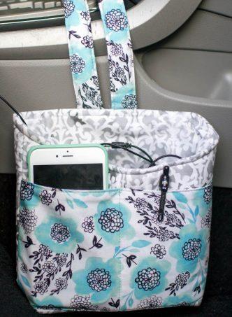 Car Diddy Bag Free Sewing Tutorial