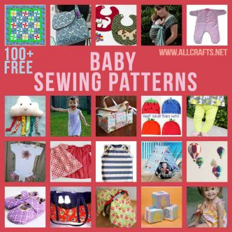 100+ Free Baby Sewing Patterns