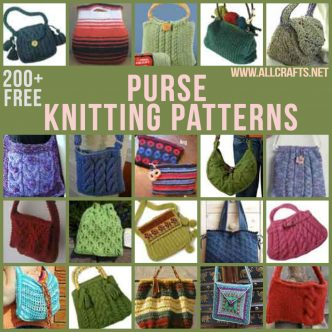 200+ Free Purse Knitting Patterns