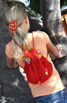 Floral Fiesta Crochet Backpack Free Pattern