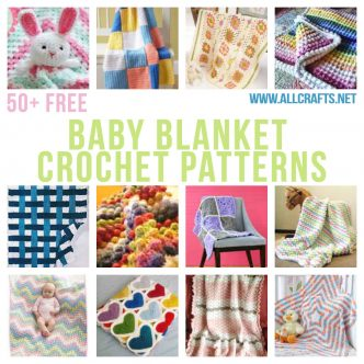 50+ Free Baby Blankets Crochet Patterns