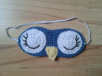 Crochet Owl Sleep Mask Pattern