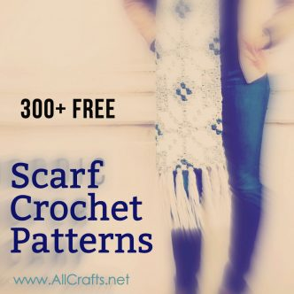 300 Free Crochet Scarf Patterns