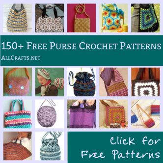 150+ Free Purse and Tote Crochet Patterns