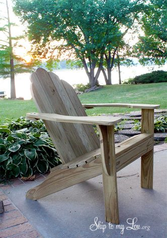 Adirondack Chair Plans -Free Download