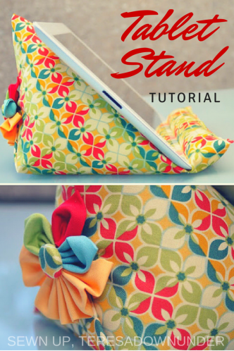 iPad Stand Sewing Tutorial