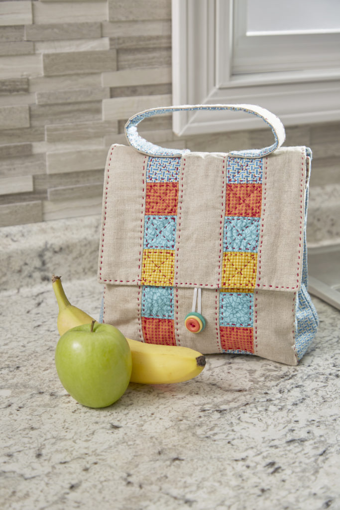 Lunch to Go Bag Free Sewing Pattern