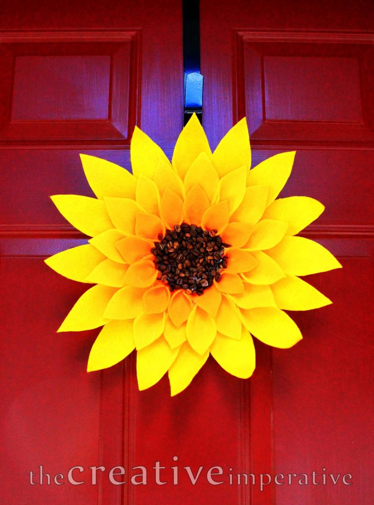 Sunflower Summer Wreath