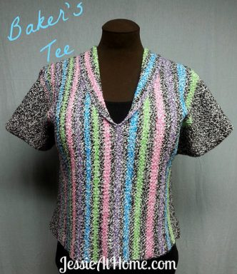 Baker's Tee Free Crochet Pattern