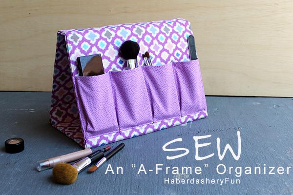 Sew an A-frame Organizer