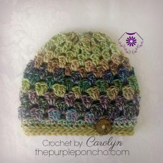 Timeless Boho Beanie Free Crochet Pattern