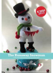 The Runaway Snowman Amigurumi Free Crochet Pattern