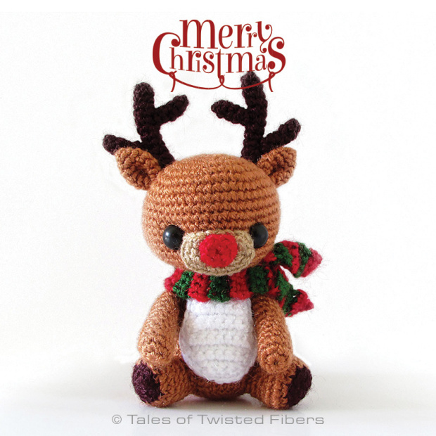 Rudy the Reindeer Free Crochet Pattern