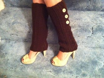 Easy Leg Warmers Crochet Pattern