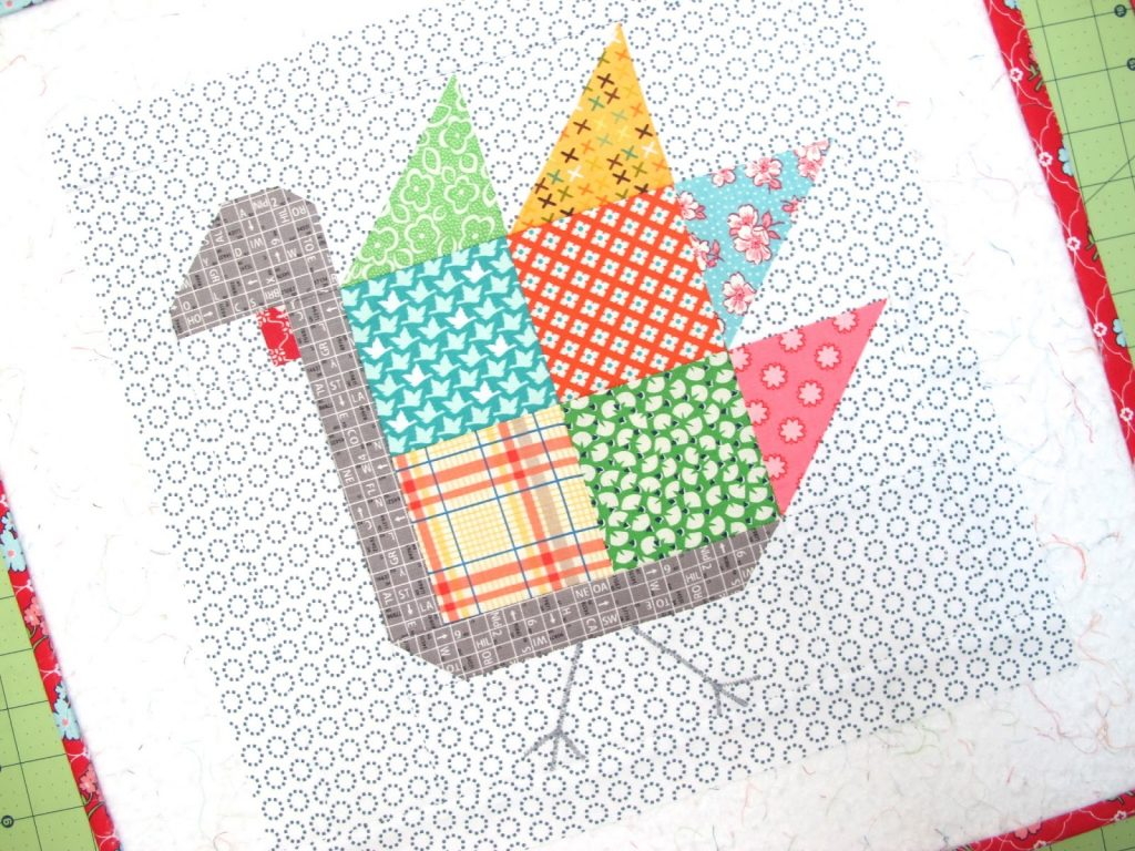 Tom Turkey Quilt Block Tutorial