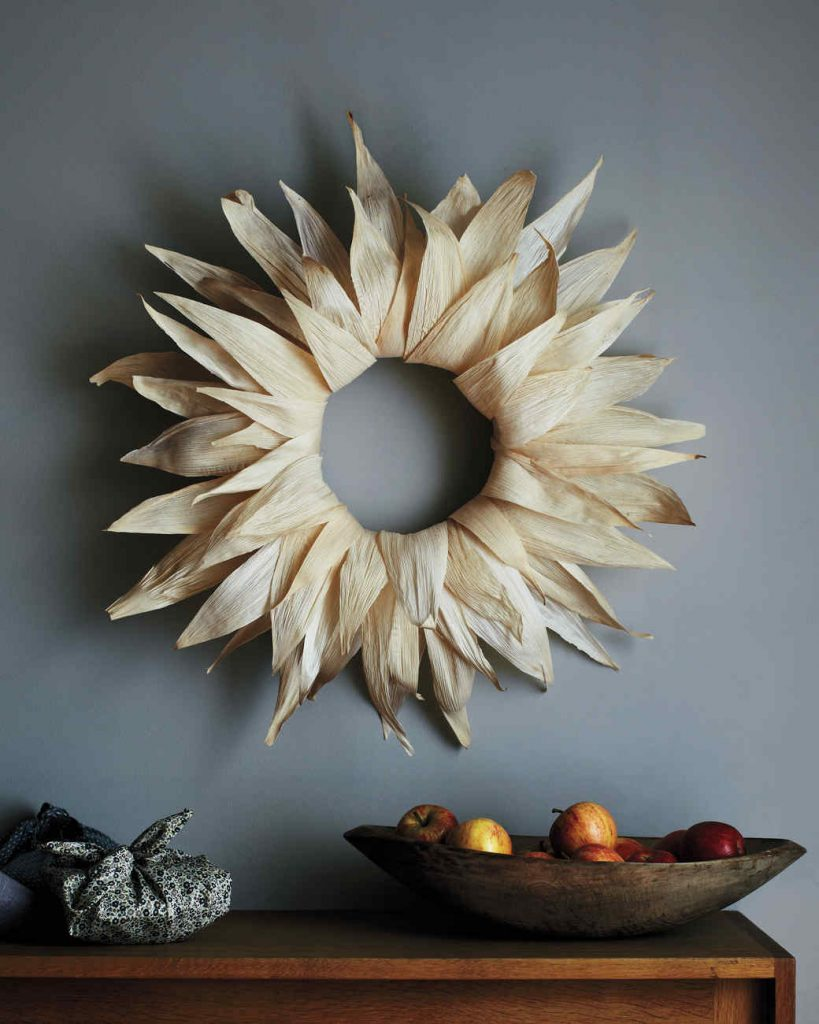 Corn-Husk Wreath