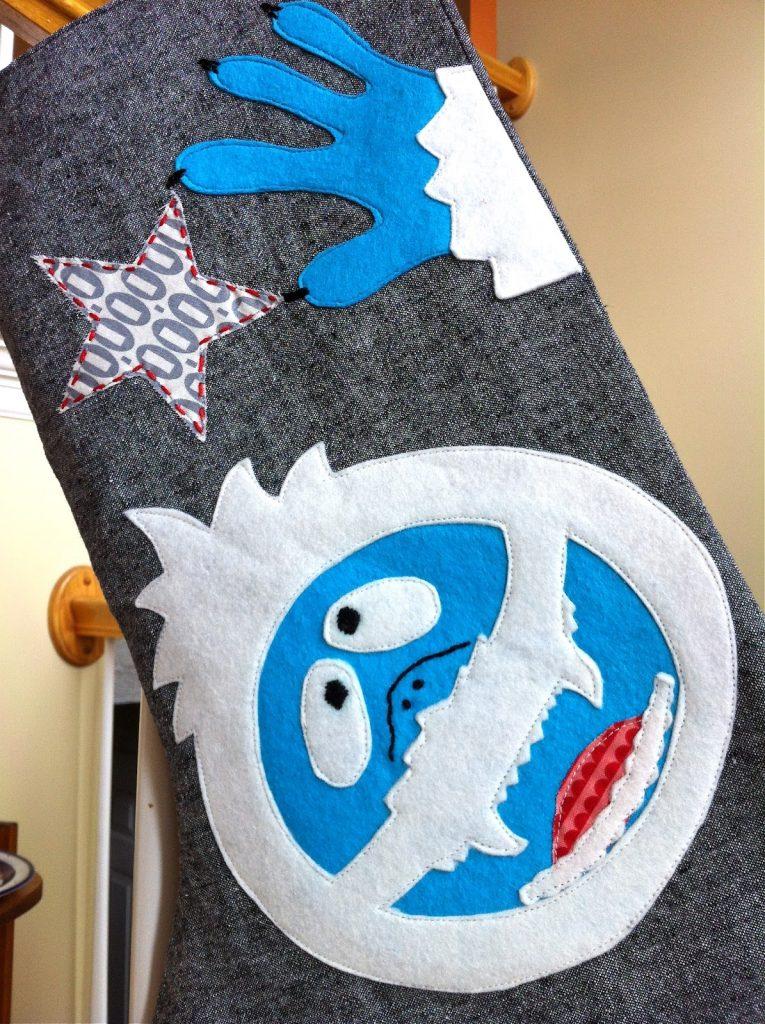 Abominable Snowman Stocking Tutorial