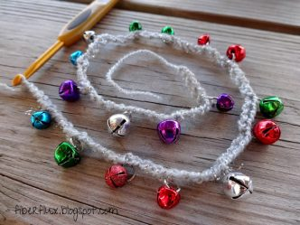 Easy Jingle Bell Garland Crochet Pattern