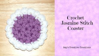 Jasmine Crochet Stitch Tutorial