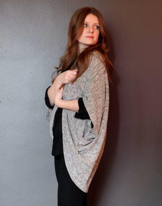 DIY Cocoon Cardigan Free Sewing Pattern