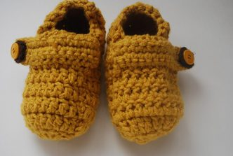 Kids Clog Slippers Crochet Pattern