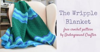 The Wripple Blanket Crochet Pattern