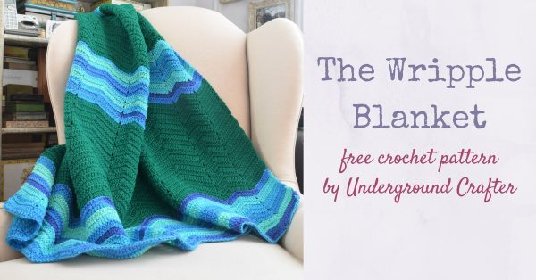 The Wripple Blanket Crochet Pattern