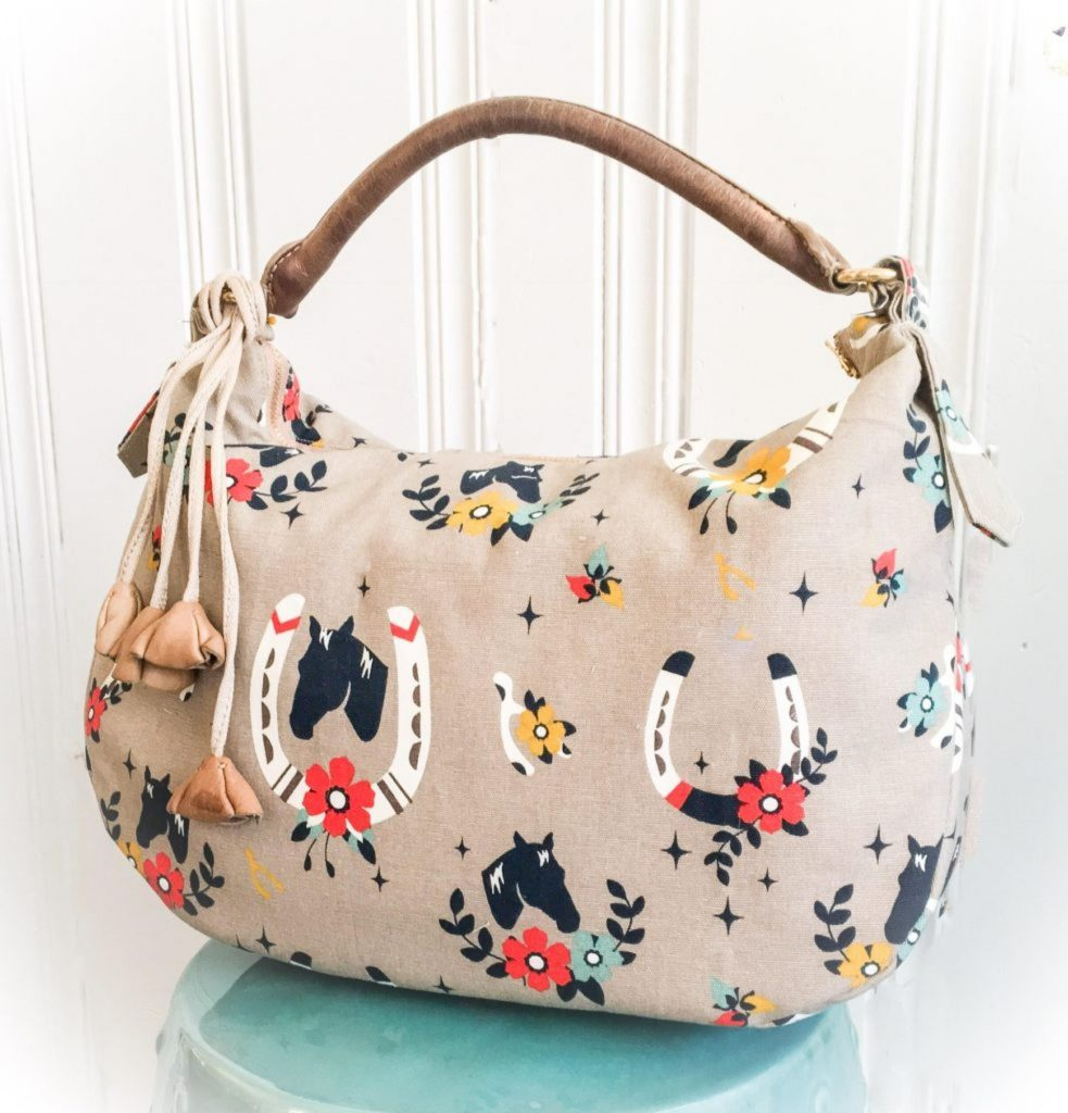 The Lauren Bag Free Sewing Pattern