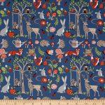 Monaluna Organic Poplin Cottage Garden Cottage Garden Fabric