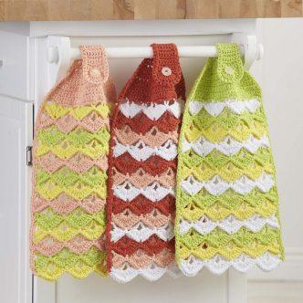 Citrus Towels Free Crochet Pattern