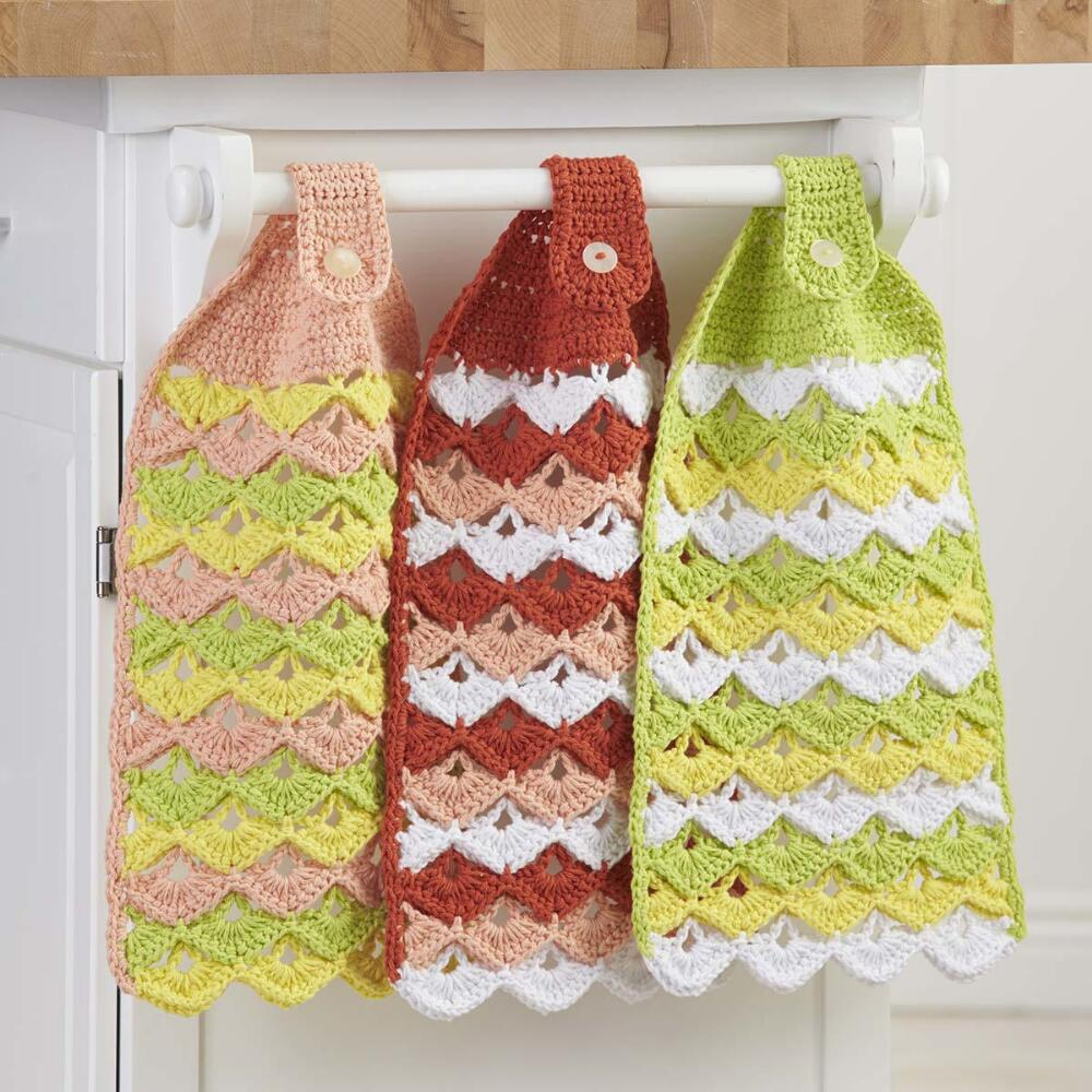 Citrus Towels Free Crochet Pattern