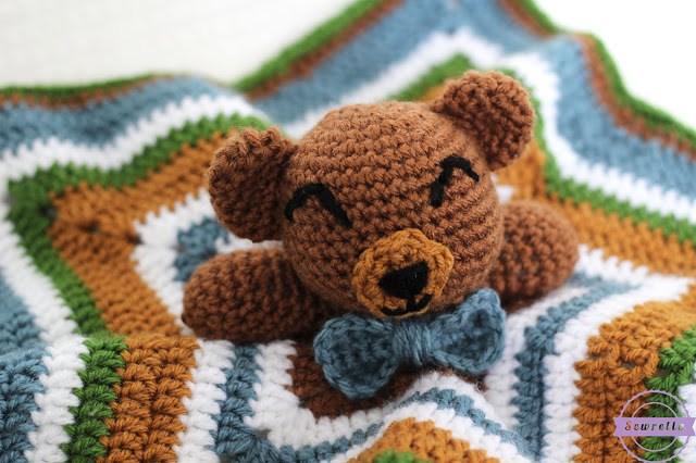 Cuddliest Crochet Bear Lovey