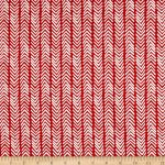 Monaluna Organic Simple Life Herringbone Canvas Fabric By The Yard