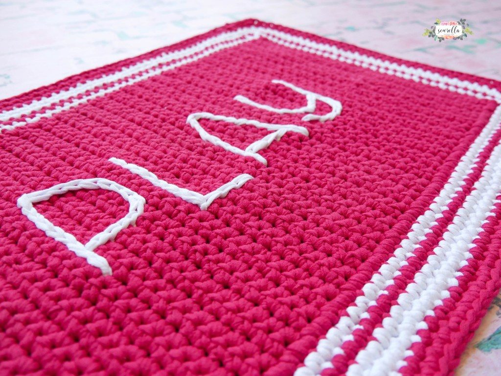 Outdoor Rug Crochet Pattern