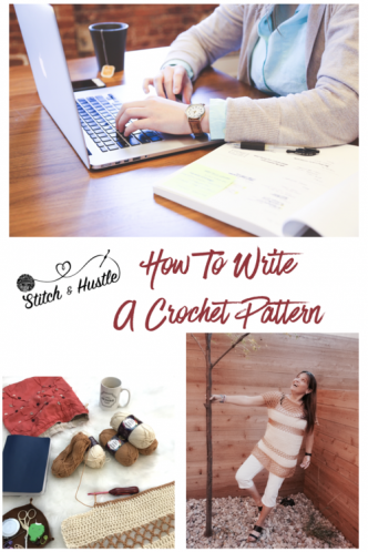 How to write a crochet Pattern