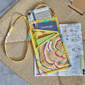 Travel Neck Wallet Sewing Pattern